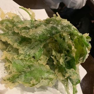 明日葉の天ぷら(源八船頭新小岩店)