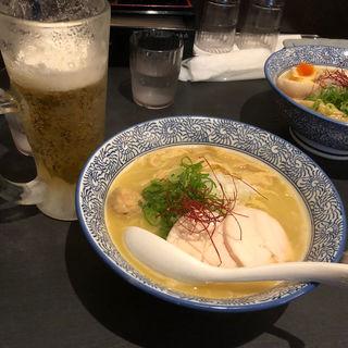 濃厚塩鶏そば(晴壱 (ハルイチ))