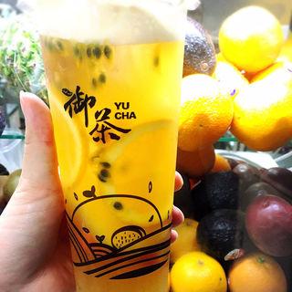 スーパーカップフルーツティー(御茶)