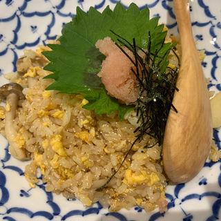 たらこバター炒飯(ロンフーダイニング)