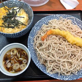 ミニカツ丼セット(そば処 大吉田 (おおよしだ))