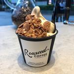 コーヒーソフトクリーム(Roasted COFFEE LABORAORY 青山ポップアップストア)
