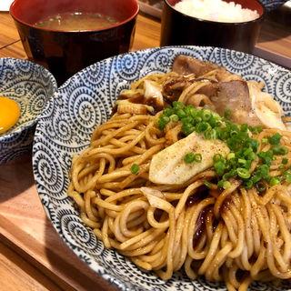 月光豚焼きそば(月光香麺)