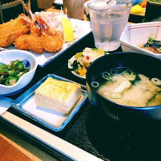 本日のお刺身と選べるメイン膳(2種)(魚忠 (ウオチュウ))