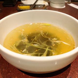 ワカメスープ(焼肉DOURAKU  (どうらく))
