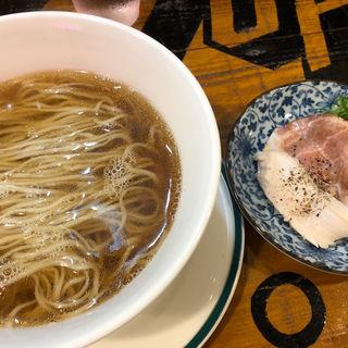 煮干し正油(麺屋ソミーズ)