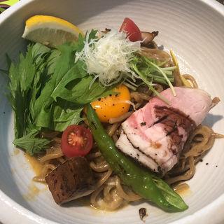 カルボナーラ風和え麺