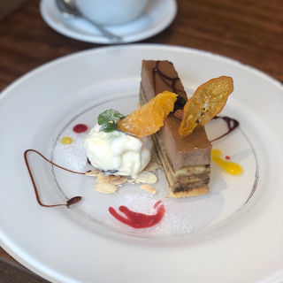 カフェチョコラータ(ハーミットグリーンカフェ)