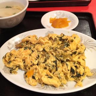 日替わり定食(高菜と玉子炒め)(紅琳飯店 )
