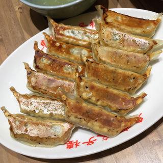 ダブル餃子定食(東京餃子楼 京橋店)