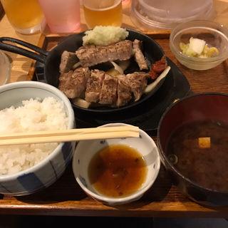 豚ステーキ(豚ステーキ十一 赤坂店 )