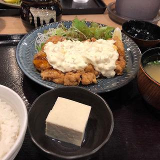 チキン南蛮定食(日の出食堂)
