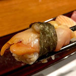 赤貝(握り2貫)(旬味旬菜 大和)