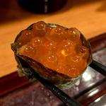 いくら(軍艦2貫)(旬味旬菜 大和)