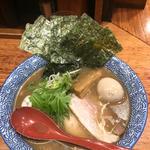 半熟煮玉子 芳醇あごだし醬油(友 (赤坂麺処 友))
