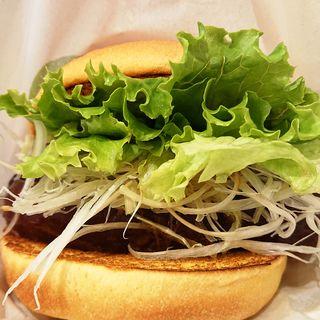 東坡肉(トンポーロウ)バーガー(フレッシュネスバーガー 新川崎スクエア店)