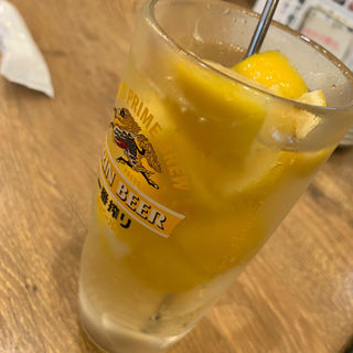 かちかちレモンハイボール(磯丸水産 神田今川橋店 )