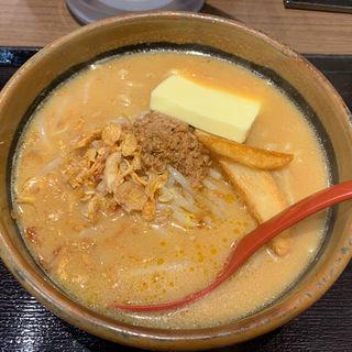 北海道味噌超バターラーメン(麺場 田所商店 城陽店)