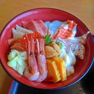 海鮮丼DX