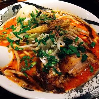 カラシビ味噌らー麺(カラシビ味噌らー麺 鬼金棒 池袋店)