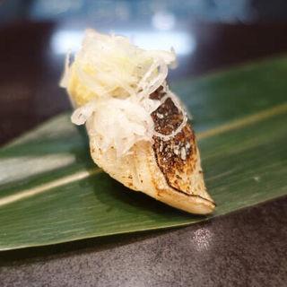 炙りさば(立食い寿司 根室花まる)