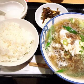 肉吸い定食(ニクスイハヤト)