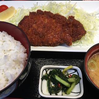 ロースカツ御膳(明治亭 軽井沢店 )