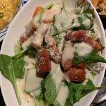 ベーコンとホーレン草サラダ