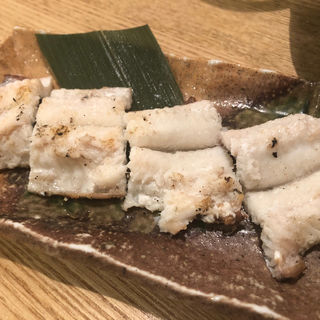 アナゴの白焼き(長浜鮮魚卸直営店 炉端 魚助)