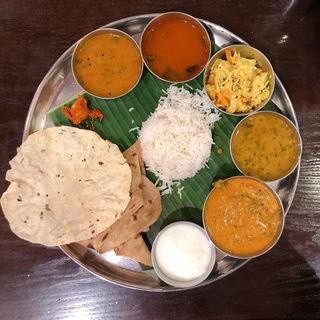 ベジ・ミールス(ホリデーランチ)(アーンドラ・ダイニング 銀座 (Andhra Dining GINZA))