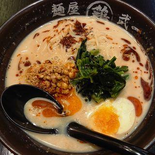 濃厚冷やし担々麺(麺屋 武一 アトレ川崎店)
