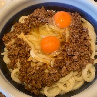 肉まみれ釜玉(丸亀製麺 大崎センタービル店 )