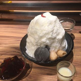 杏仁かき氷(ICE MONSTER 名古屋ラシック)