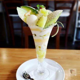 プレミアムメロンパフェ(フルーツシェフ (Fruit Chef))