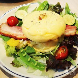 奇跡のパンケーキ チーズチーズチーズ(FLIPPER'S 表参道店)
