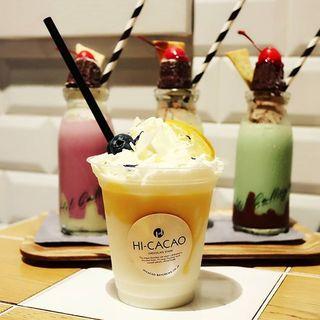 レモンアイスチョコレート(HI-CACAO CHOCOLATE STAND (ハイカカオ チョコレートスタンド))