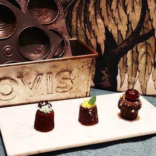 チョコカヌレフォンダン (チョコミント·レモンクリームチーズ·チェリー)(HI-CACAO CHOCOLATE STAND (ハイカカオ チョコレートスタンド))