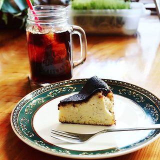 おからのバスクチーズケーキ