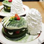 宇治抹茶のティラミスパンケーキ