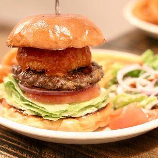 エノキフライバーガー(MEIHOKU Burger)