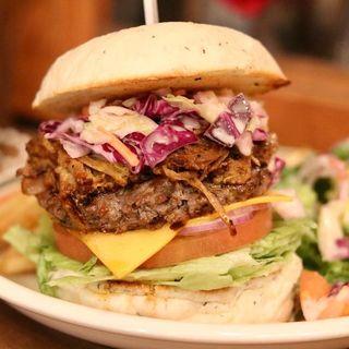 プルドポークバーガー(MEIHOKU Burger)
