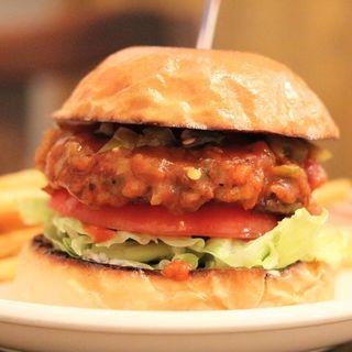 サルサバーガー(MEIHOKU Burger)