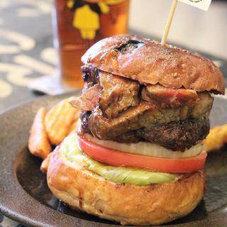 サーロインステーキバーガー(Sunchago Burgers)