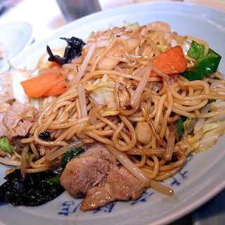 上海麺(ヤワ焼きそば)(北京飯店 (ペキンハンテン))