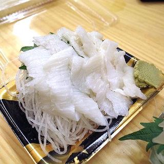 カレイのえんがわのお刺身(渡辺寿司 (渡辺商店))