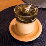 白魚の餡掛け茶碗蒸し