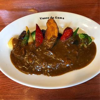 夏野菜カレー(ヴァスコ・ダ・ガマ 本店)