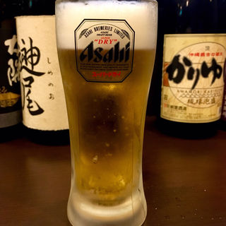 生ビール(中)(炭火 串焼きボンちゃん)