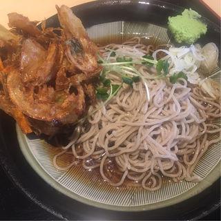 野菜かき揚げ蕎麦(蕎麦処グレゴリー)