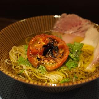 太刀魚のラーメン(イワッチーナ邸 La麺Cucina 本町・淀屋橋)